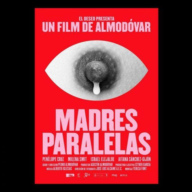 Polémica con el cartel de 'Madres paralelas', la nueva película de Pedro Almodóvar