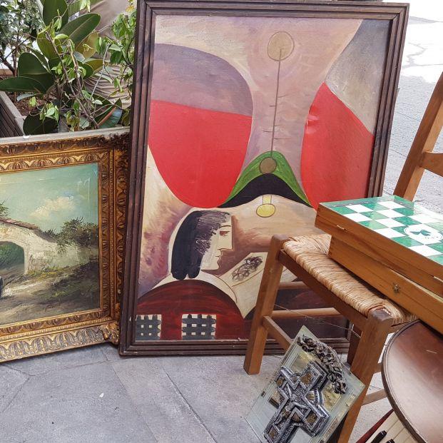 Compra por 80 euros un cuadro que podría valer decenas de miles en una tienda de segunda mano. Foto: Bigstock