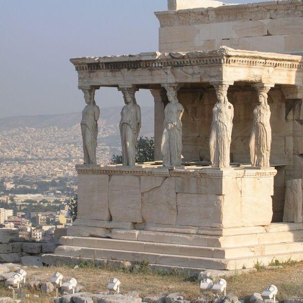 EuropaPress 2250306 grecia templo cariatides acropolis atenas