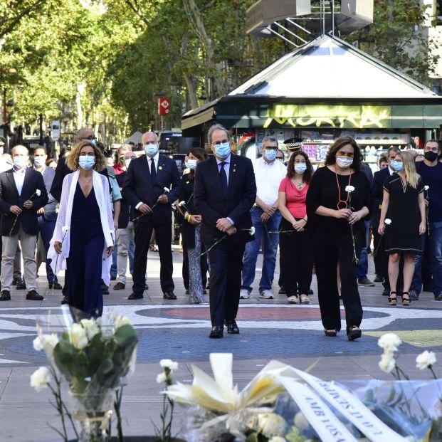 17A: Homenaje a las víctimas de los atentados de Cataluña
