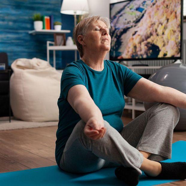 Tipos de meditación y sus 5 beneficios para los mayores (Big Stock)