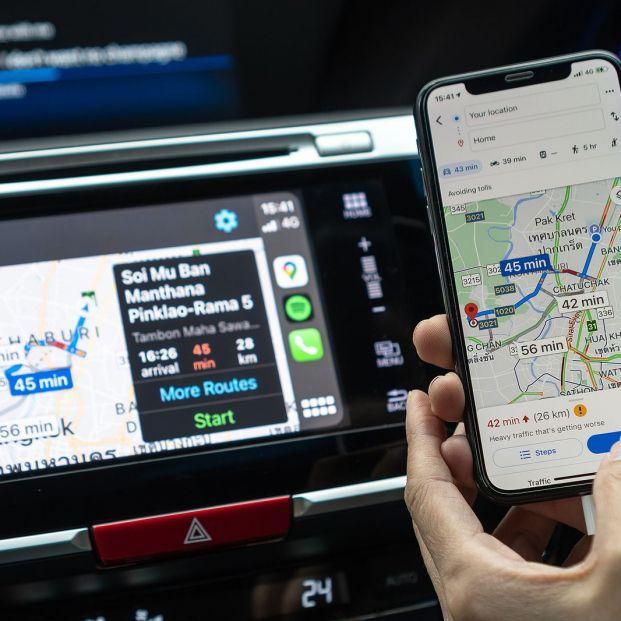 Truco Google Maps: comparte una ruta con otras personas (Big Stock)