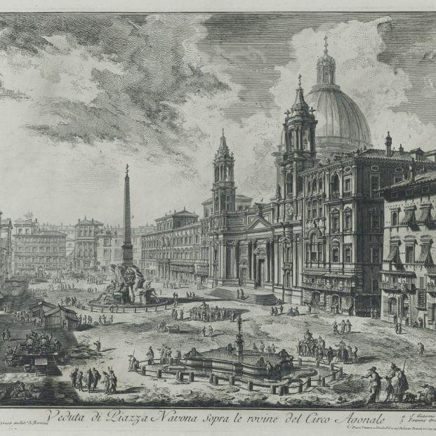 Piranesi en la Biblioteca Nacional de España