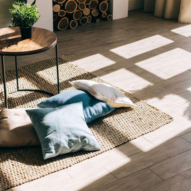 Cuatro consejos para limpiar tu alfombra de yute fácilmente