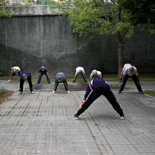 """Investigadores del CIBERFES reivindican que el ejercicio es """"la mejor medicina para los mayores"""". Foto: Europa Press"""