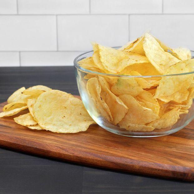 Patatas chips al microondas, te sorprenderán