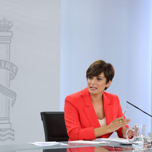 EuropaPress 3897027 ministra portavoz isabel rodriguez interviene rueda prensa posterior (1)