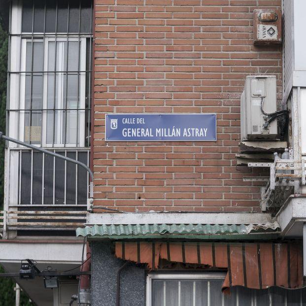 Millán Astray regresa al callejero de Madrid entre críticas de Más Madrid y Podemos. Foto: Europa Press