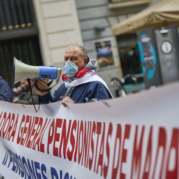 Por unas pensiones públicas dignas garantizadas. Foto: Europa Press