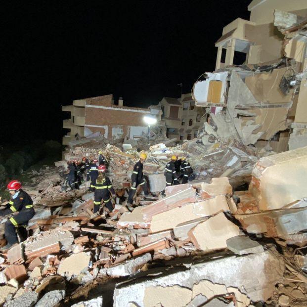 Encuentran sin vida a un menor desaparecido en un derrumbe en Peñíscola