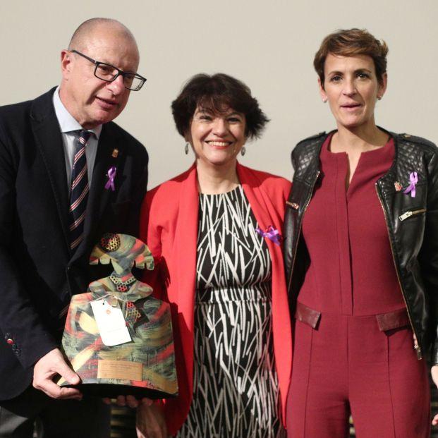 EuropaPress 2511579 presidenta navarra maria chivite recibe premio reconocimiento proyecto
