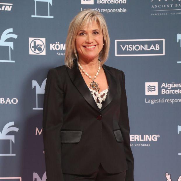 Julia Otero vuelve a la radio tras superar seis meses de de lucha contra el cáncer. Foto: Europa Press