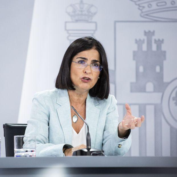 La ministra de Sanidad Carolina Darias desvela quién recibirá la tercera dosis de la vacuna