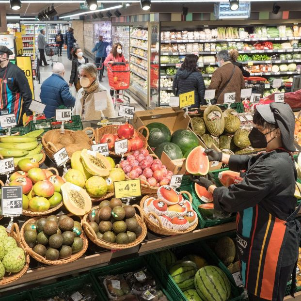 El precio de la luz arrastra al de los alimentos: estas son las mayores subidas. Foto: Europa Press