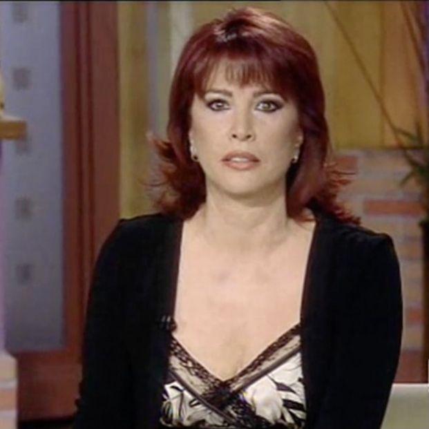 Cristina García Ramos, la presentadora de 'Corazón, corazón' que jubilaron a la fuerza de TVE (Foto: captura RTVE)