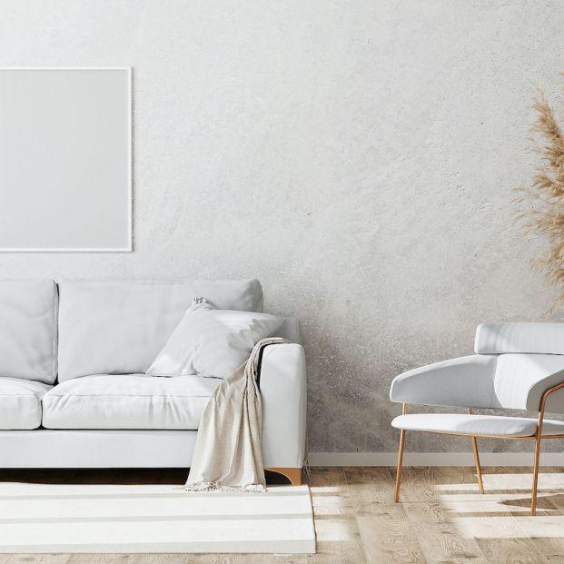 Cómo limpiar un sofá blanco