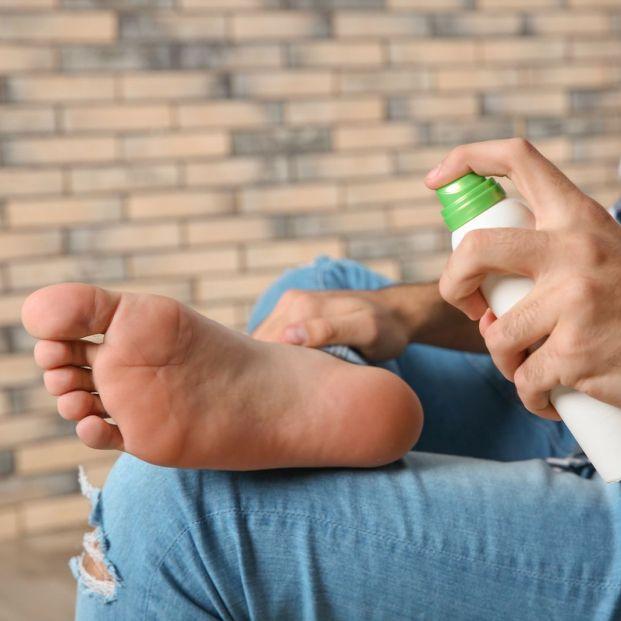 Remedios para el olor de pies (bigstock)