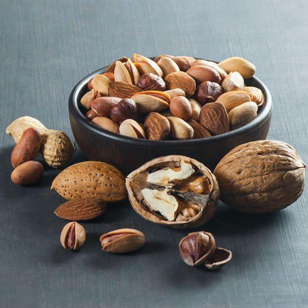 Confirmado: los frutos secos no engordan, es más, se asocian a la disminución de la adiposidad. Foto: Bigstock