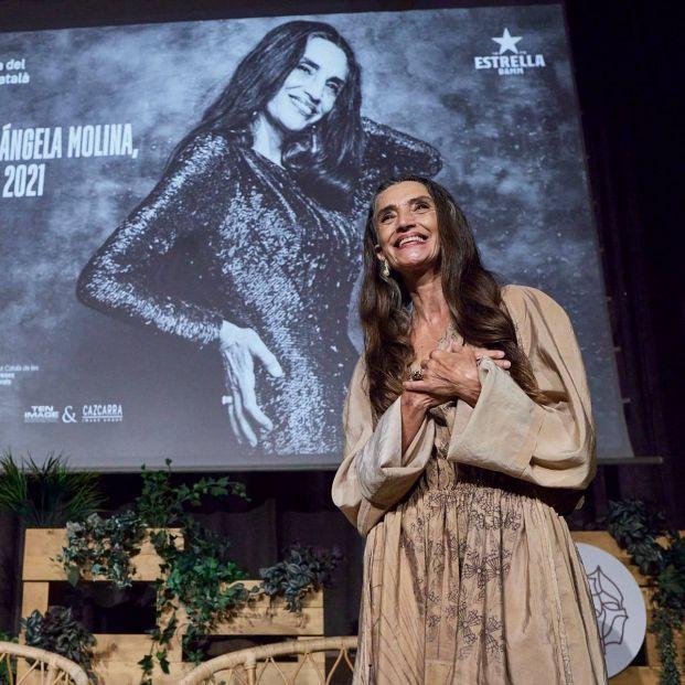 """Homenaje a la actriz Ángela Molina: """"Yo no doy importancia a los premios, ellos me la dan a mí"""""""