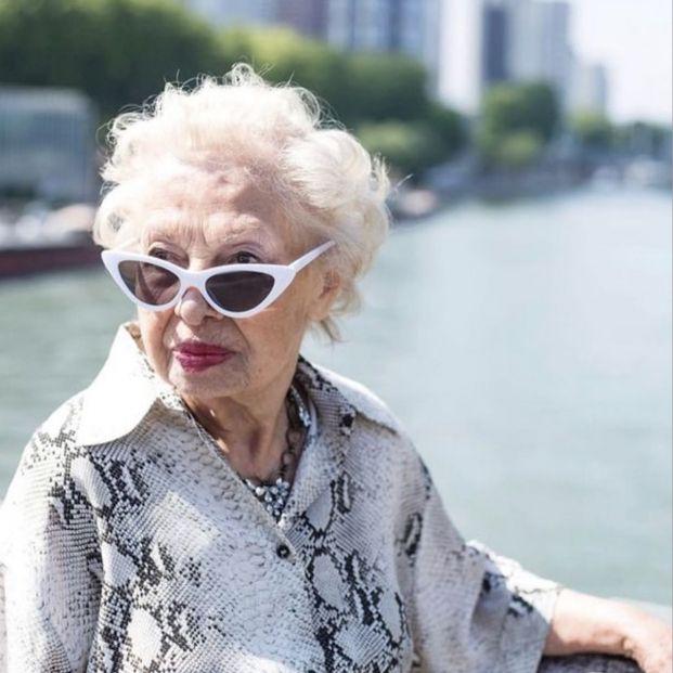 ¡Menudo estilo! Iran Khanoom, la influencer de 91 años que arrasa en Zara (Foto: Instagram 'iran.khanoom')