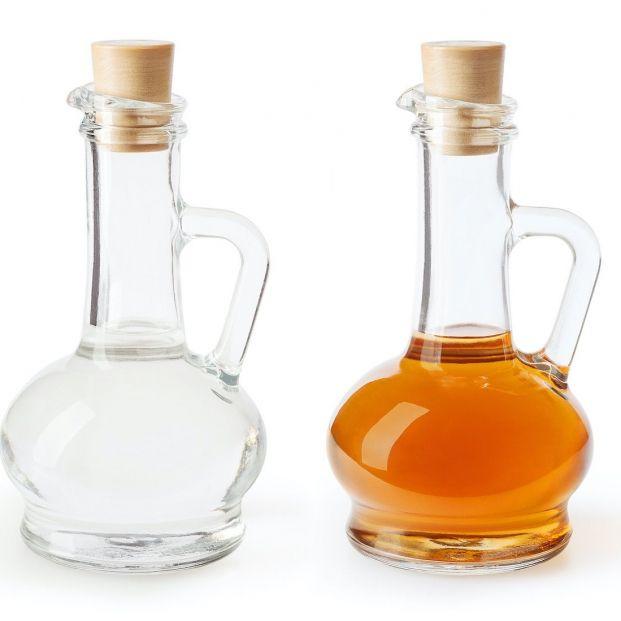 Vinagre blanco y vinagre de limpieza: ¿son lo mismo?