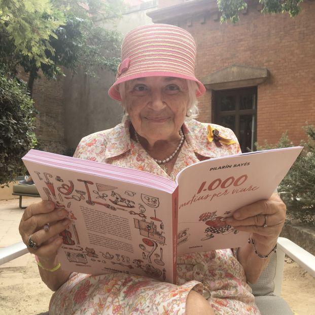 """Pilarín Bayés publica su libro 1.000: """"No esperaba tanto de la vida"""". Foto: Europa Press"""