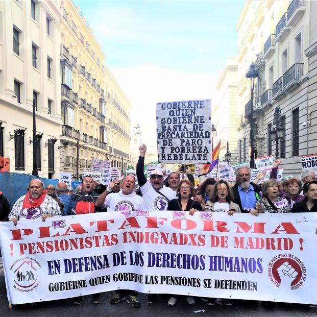 'Otoño caliente': Pensionistas preparan una oleada de movilizaciones para los próximos meses