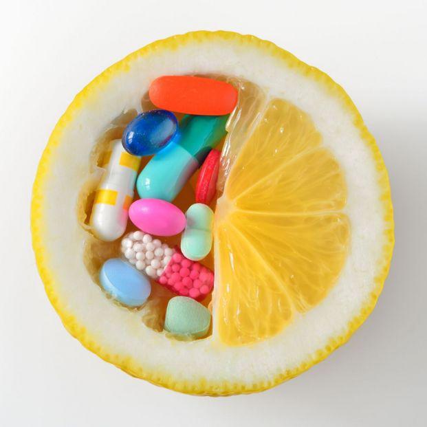 El color de las pastillas