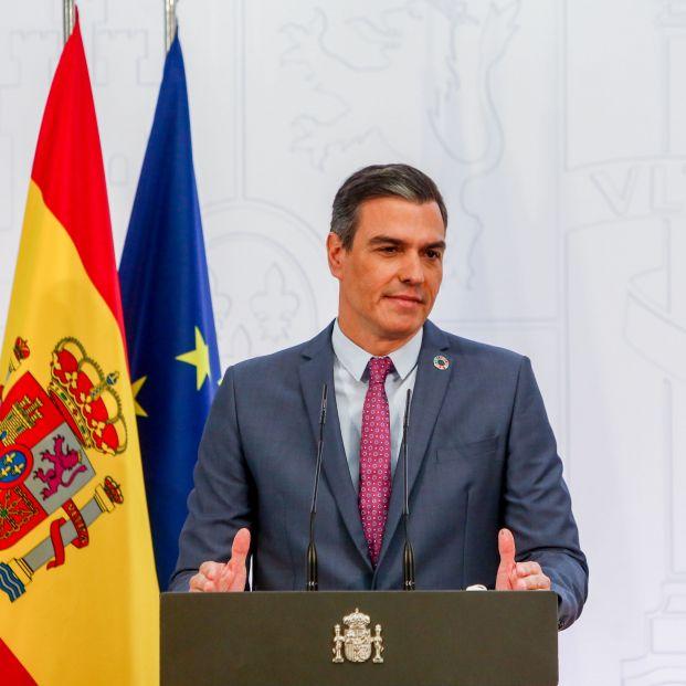 """Pedro Sánchez, """"El sumo hacedor"""". Foto: Europa Press"""