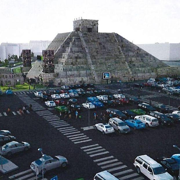 Todos los detalles de la pirámide azteca que Nacho Cano quiere levantar en Madrid