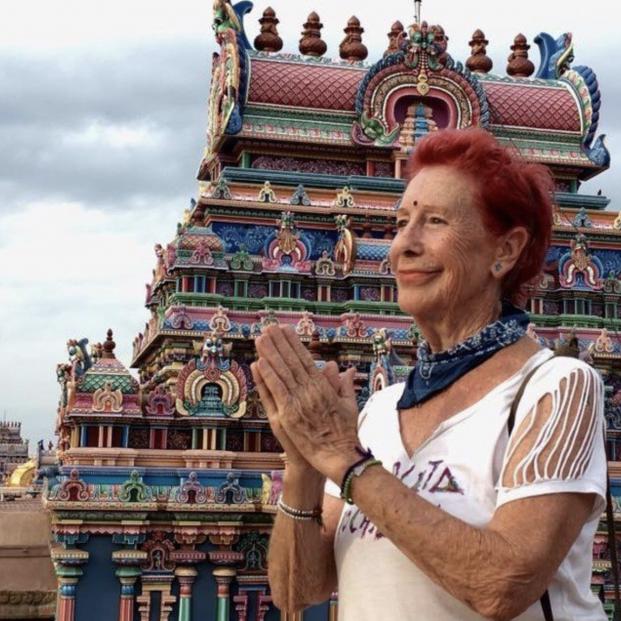 """Kandy García, la 'abuelita mochilera':  """"Yo no puedo esperar, tengo que vivir cada momento"""""""