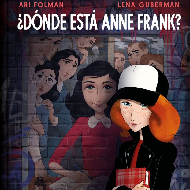 Publican 'Dónde está Anne Frank' basada en el famoso diario de la niña que se oculto de los nazis