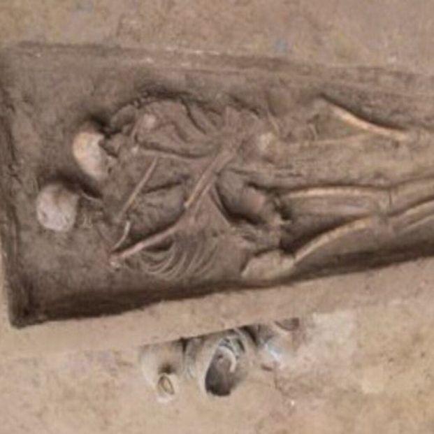 Abrazados desde hace 1.500 años: el entierro por amor descubierto en China