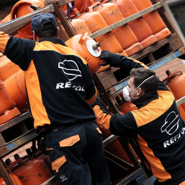 El precio máximo de la bombona de butano sube a partir de este martes. Foto: Europa Press
