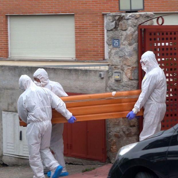 Un nuevo estudio estima que la letalidad de la Covid fue 130 veces mayor para los mayores de 75 años. Foto: Europa Press