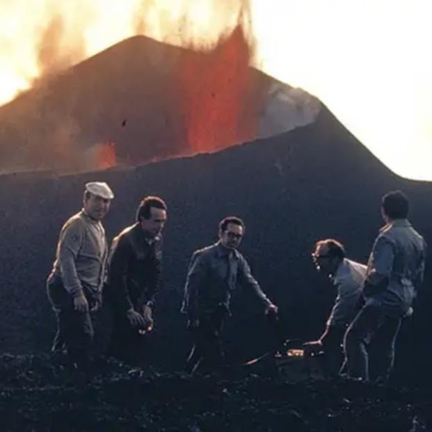 Así fue la última gran erupción de un volcán en La Palma, la del Teneguía en el año 1971