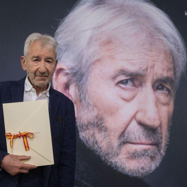 José Sacristán recibe el Premio Nacional de Cinematografía 2021. Foto: Europa Press
