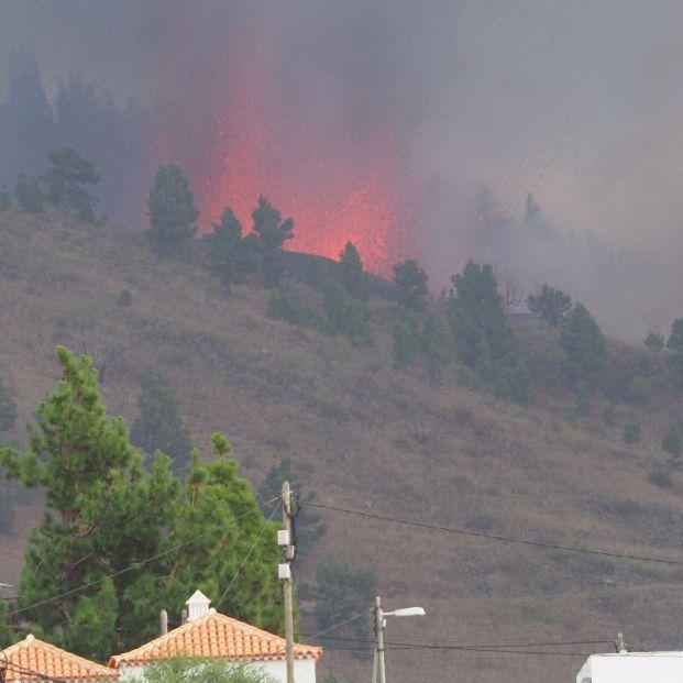"""Las consecuencias de la erupción del volcán: """"Mucha gente lo ha perdido todo"""". Foto: Europa Press"""