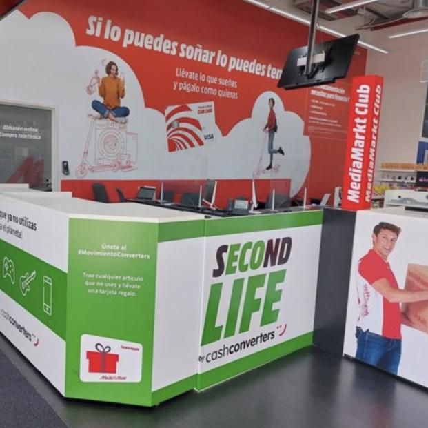 Mediamarkt y Cash Converters se alían para dar una segunda vida a sus productos. Foto: Europa Press