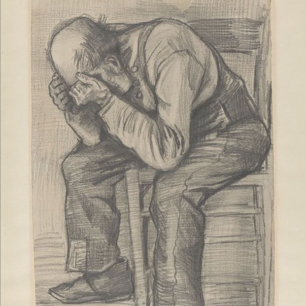 Un hombre mayor destrozado: descubierto un 'nuevo' dibujo de Van Gogh