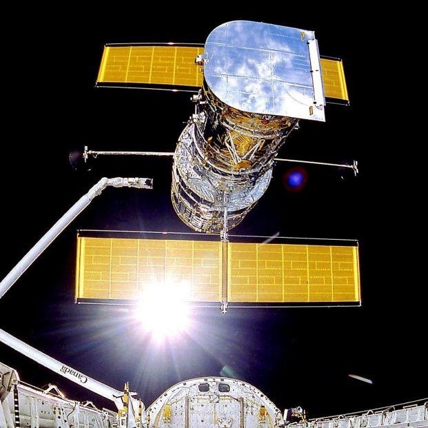 Jubilados de la Nasa ayudan a reparar el telescopio espacial Hubble. Foto: Europa Press