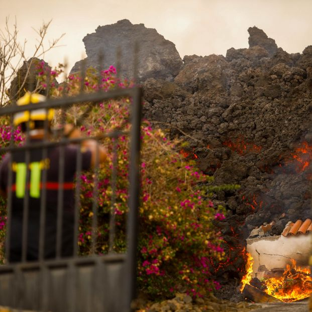 Los mayores de las residencias de La Palma a salvo. Foto: Europa Press