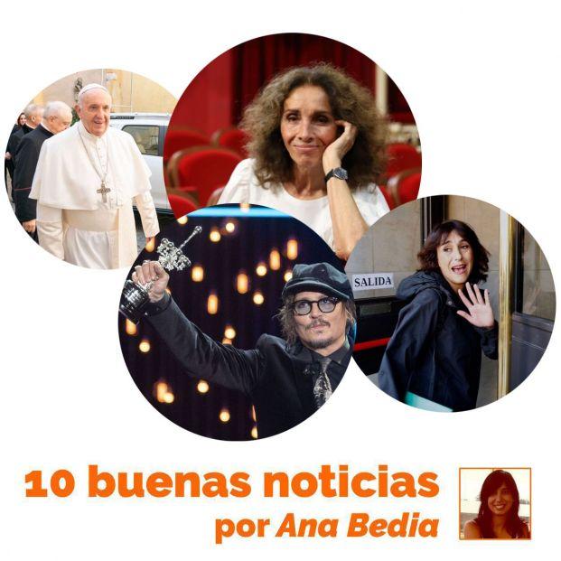 Buenas noticias del 24 de septiembre: El 'debut' de Ana Belén
