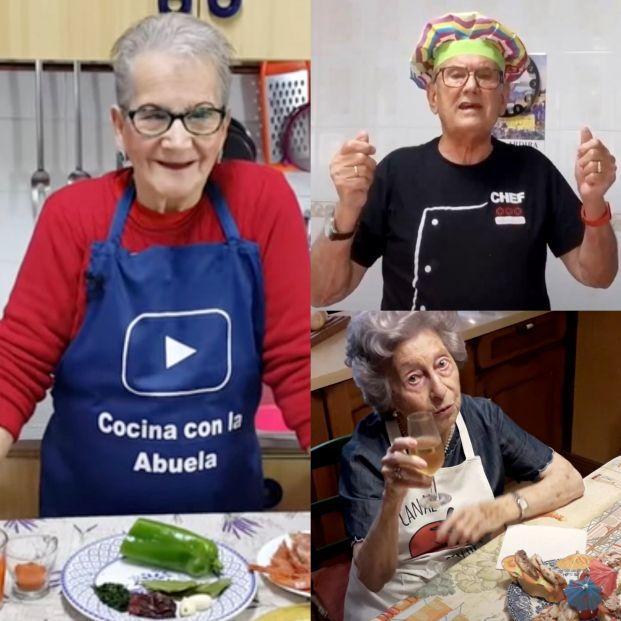 Aprende las mejores recetas con estos 5 youtubers mayores amantes de la cocina