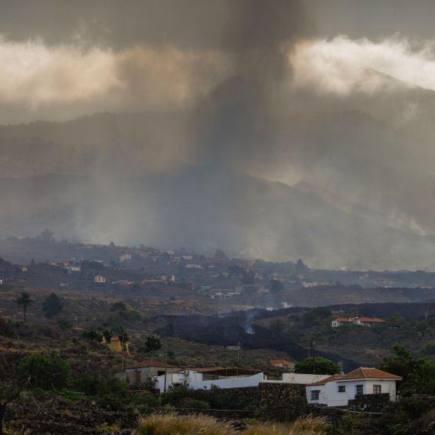EuropaPress 3950798 vista general volcan nucleo urbano todoque 21 septiembre 2021 llanos