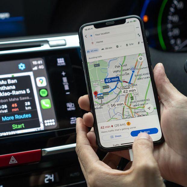Google Maps para Android Auto se actualiza y hace feliz a los conductores del mundo entero. Foto: Bigstock