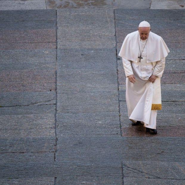 """El papa denuncia """"una eutanasia encubierta"""" de las personas mayores. Foto: Europa Press"""