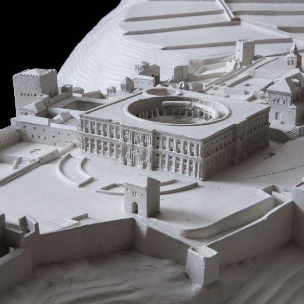 Las maquetas más impresionantes de fortificaciones, en una exposición en Madrid