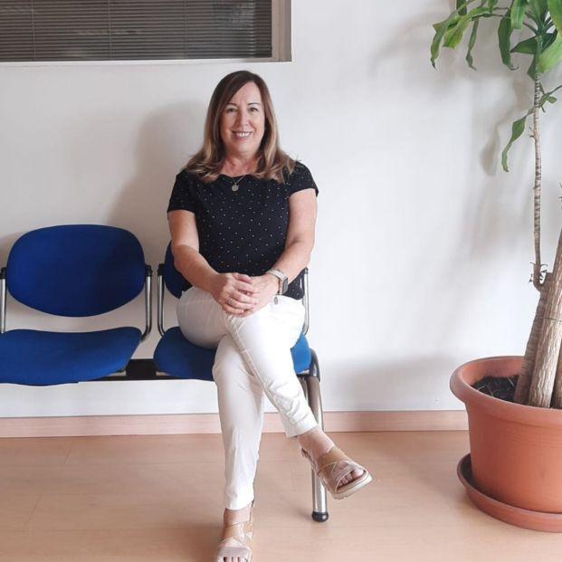 """Nieves Martínez: """"Tengo 47 años cotizados, y perdería 400 euros de pensión al mes si me prejubilo"""" (Foto cedida por la entrevistada)"""