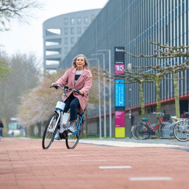 Bicicleta eléctrica para evitar las caídas (TUDelft)